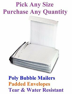 Poly Bubble Mailers Padded Shipping Mailing Bags Padded All Sizes Envelopes
