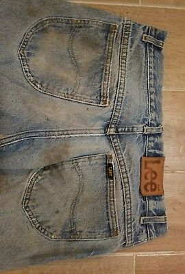 VTG Lee Riders Jeans Pants Worn Naturally Distressed