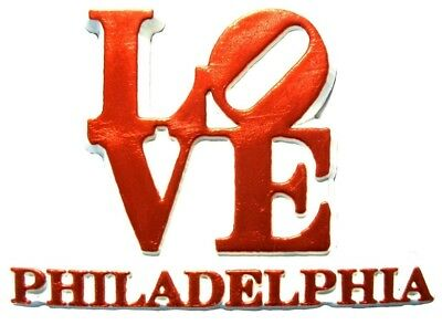 Philadelphia Love Fridge Magnet