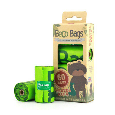 Dog Poo Poop Bags Beco Dispeser Refill Eco Friendly Degradable Multi Bag Options