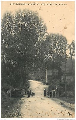 87-Chateauneuf La Foret-N°C-3009-A/0113