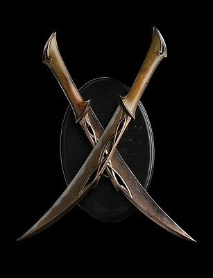 THE HOBBIT DAGGERS OF TAURIEL Prop Replika THE WETA CAVE IN STOCK !! NOW !!!