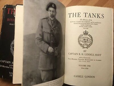 The Tanks: The History of the Royal Tank Regiment, Volume One & Two, 1914 - 1945