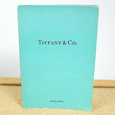 Vintage Tiffany & Company Jewelry Catalog The Blue Book Collection 1973-1974