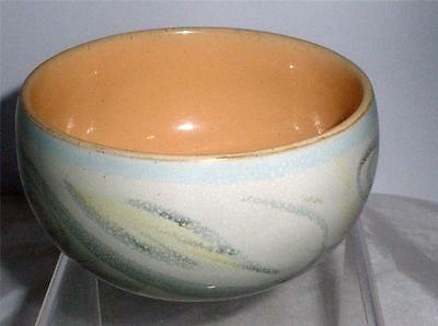 Denby Pottery Peasant Ware Pattern Sugar Bowl 10.5cm Dia made in Stoneware