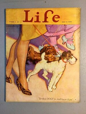 Antique 1927 LIFE MAGAZINE, Cover Art by McLelland Barclay, AMAZING Advertising!