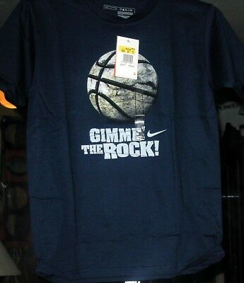 NIKE GIMME the ROCK VINTAGE NAVY BOYS COLLECTIBLE T-SHIRTS NEW W/TAGS SMALL