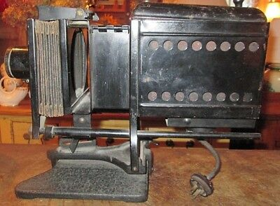 Antique Bausch & Lomb Magic Lantern Projector