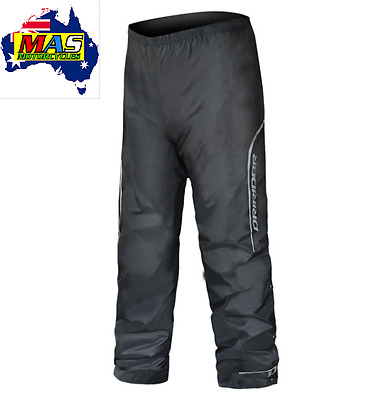 **thunderwear 2** Dririder Motorcycle Pants Wet Weather Gear Black All Sz