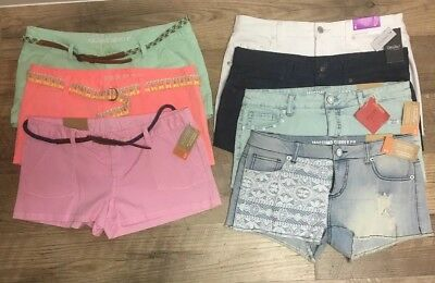 NWT Lot of 7 Mossimo Target Shorts Sizes 9 7  - Fit6