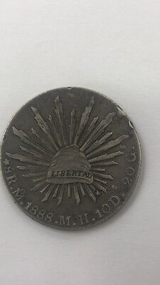 Mexico First Republic 8 Reales