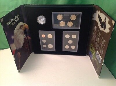 2008 S American Legacy Collection Proof Set, 15 US Mint Coins, display, COA