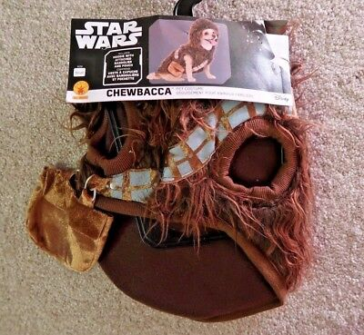 Star Wars Chewbacca Chewie Halloween Costume Hoodie pet dog sizes XS and SMALL