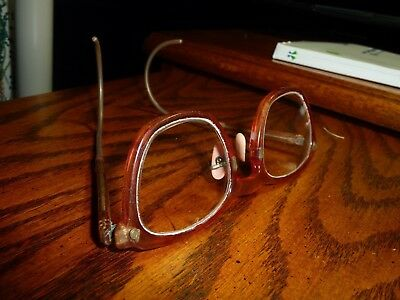 Vintage AO American optical safety glasses NICE steampunk Cool