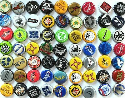 500 Mixed Beer bottle caps (((No Dents))) Good Assortment