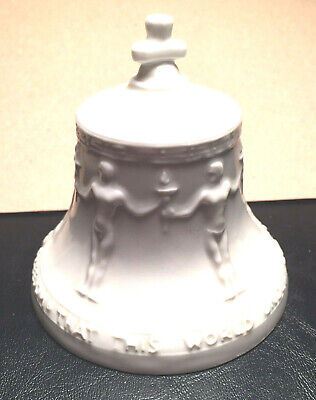 Vintage Porcelain German Freedom Bell Replica