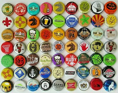 400 Beer bottle caps (((No Dents))) Good Assortment