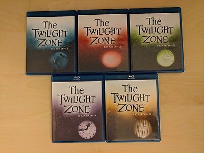 The Twilight Zone Original Series - Seasons 1 to 5 on Blu-ray