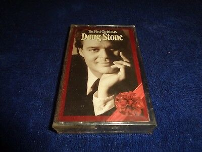 Doug Stone - The First Christmas cassette SEALED/NEW (1992)