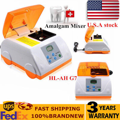 Dental Amalgamator Capsule Mixer HL-AH G7 Lab Equipment Amalgam Mixer USA TOP
