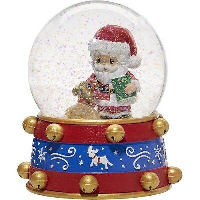 Precious Moments Christmas Santa Musical Snow Globe 171101 We Wish You