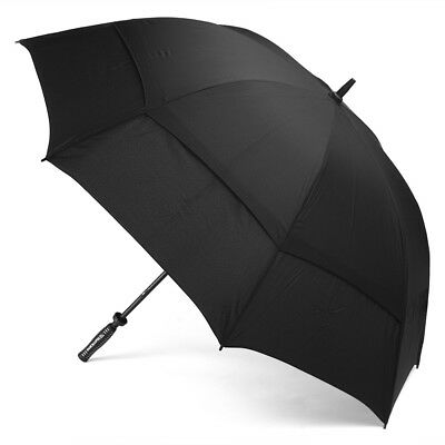 NEW Clifton Hurricane Black Golf Umbrella