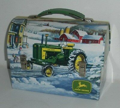 John Deere Farm Tractors, Tin Lunchbox (Dated 2007)