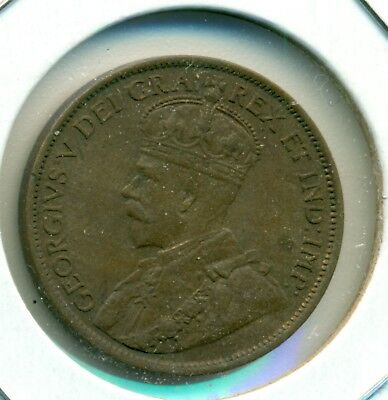 1912 Canada Large Cent, Almost Uncirculated, Great Price!