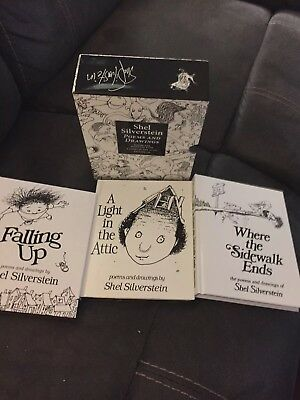 Shel Silverstein Set : Poems and Drawings by Shel Silverstein (Hardcover)