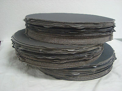"""8"""" PSA Sanding Discs """"USA"""" (36pcs)(Great for Knife Makers)(USA) 60,120,180 grit"""