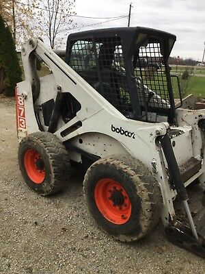 Bobcat 873 skid steer.