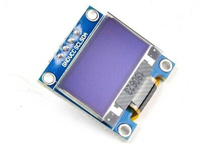 OLED Display 128x64 Pixel I2C, 0.96 inch, SSD1306, Arduino Library, 3-5V   #0958