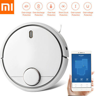 XiaoMi Robot Staubsauger Smart Vacuum Cleaner LDS APP 5200mAh 1800pa Sweep NEWLY