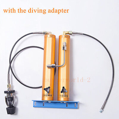 30Mpa Scuba Air Compressor Diving Air Compressor Air Filter Water-Oil Separator