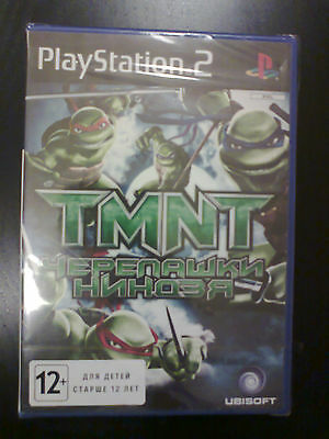 Tmnt  (Ps 2, Pal) Brand New&sealed