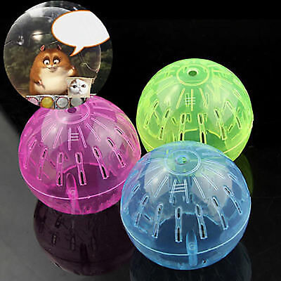 Pet Rodent Mice Jogging Hamster Gerbil Rat Toy Plastic Exercise Ball Lovely Nice