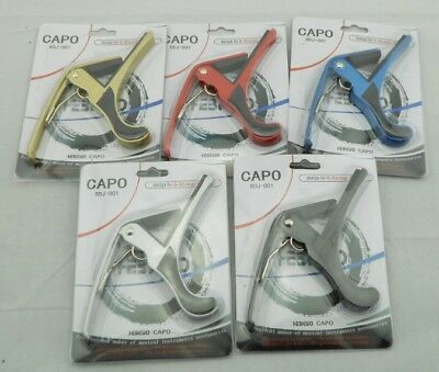 Premium Guitar Capo Quick Change Release Clamp Acoustic Electric Guitar
