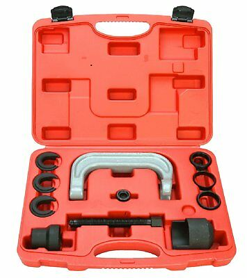Upper Control Arm Bushing Remover Install Forged C Frame Service Tool 11pcs Set