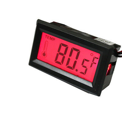 Stable TS-801 LCD Digital Temperature Thermometer Meter Backlight DC 5V Car Boat