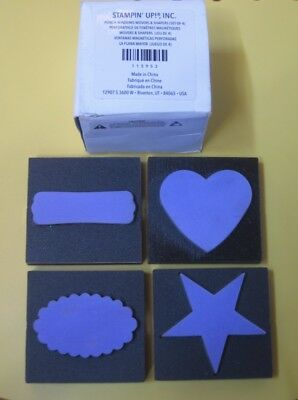 Stampin Up Punch Window Movers & Shapes - in Box