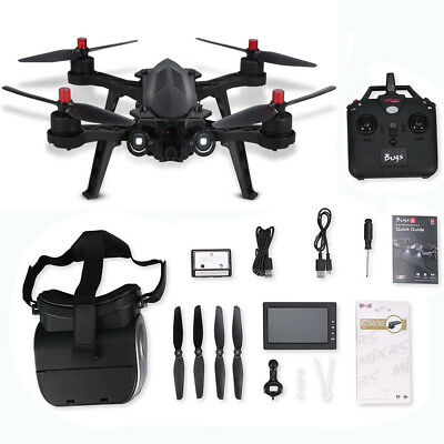 MJX B6 Bugs Camera Drone 5.8G FPV RC Quadcopter with G3 Goggles with Led Light