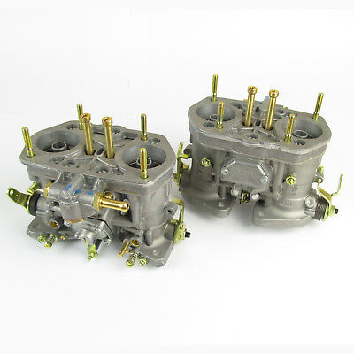 Genuine Weber 40IDF carbs. x2 jetted for 2000cc VW air cooled Beetle Camper