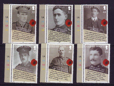 2008 Isle of Man. 90th Anniversary of the End of World War 1 SG1460/5 MNH