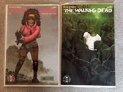 Walking Dead 171 (A + B 2 comic Set) 1st Appearance of Princess!  Hot & Sold Out