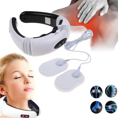 Tens machine pain relief digital therapy neck & body massager acupuncture back
