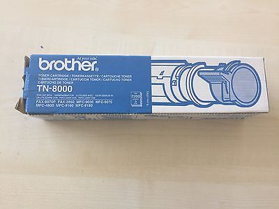 Brother TN-8000 Tonerkartusche - black *NEU*