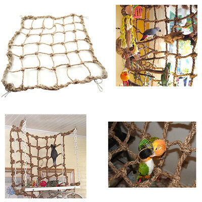 Pet Rope Net Swing Ladder Chew Toys Parakeet Climbing Play Parrot Birds Toy