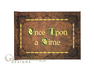 Once Upon a Time OUAT Storybook inspired hardcover cosplay book notebook