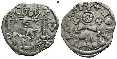 Savoca Coins Medieval Silver Coin1,23 g / 17 mm !PEP3486
