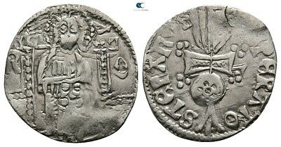 Savoca Coins Medieval Silver Coin0,87 g / 15 mm !PEP3487